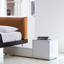Contemporary bedside table / MDF / rectangular / by Piero Lissoni