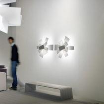 Contemporary wall light / methacrylate / LED / halogen