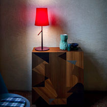 Table lamp / contemporary / steel / polycarbonate