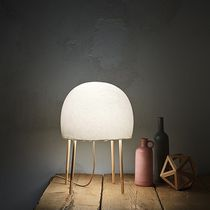 Table lamp / contemporary / Japanese paper / LED