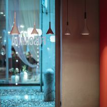 Pendant lamp / contemporary / concrete / LED