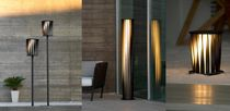 Urban bollard light / contemporary / aluminum / LED