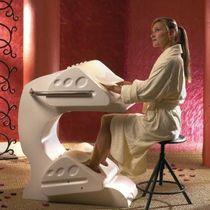 Thermal steam treatment chair