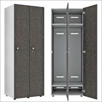 Melamine locker / for public buildings / for wet rooms