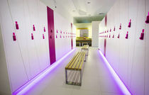 Wooden locker / for sports facilities / for wellness centers / commercial