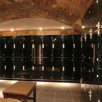 Glass locker / for public buildings / secure