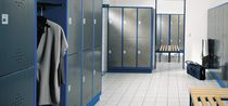 Steel locker / for industrial use / commercial