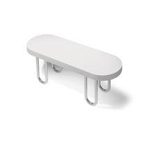 Contemporary bench / metal