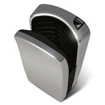 Fan hand dryer / wall-mounted / aluminum