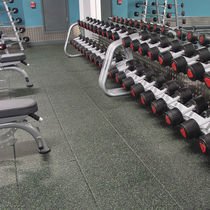 Rubber sports flooring / for indoor use / for multipurpose gyms