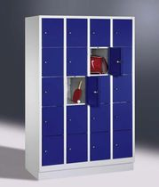 Steel locker / secure / for public buildings