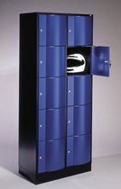 Steel locker / vandal-proof / for public buildings