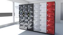Metal locker / combination / for public buildings / secure