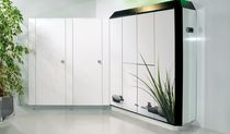 Glass locker / steel / secure