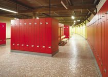 Steel locker / secure / for sports facilities