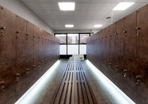 Wood locker / secure / for sports facilities