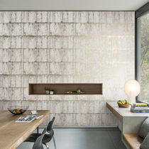 Natural cork wallcovering / residential / commercial / printed
