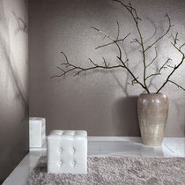 Mica wallcovering / residential / satin / fabric look
