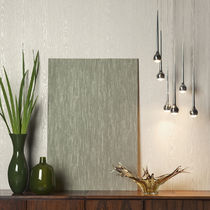 Contemporary wallpaper / natural fiber / patterned / non-woven