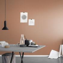 Contemporary wallpaper / plain / gray / brown