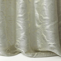Patterned sheer curtain fabric / polyester / residential