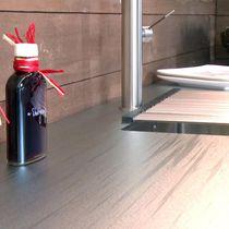 Stainless steel countertop / kitchen
