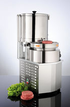 Commercial hamburger press