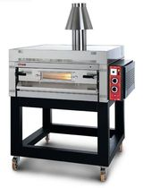 Gas oven / commercial / pizza / single-chamber