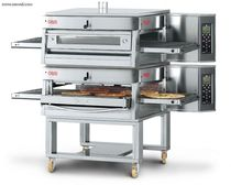 Gas oven / commercial / double / convection