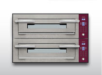 Electric oven / professional / pizza / 2-chamber