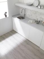 Indoor flexible tile / floor / PVC / wood look