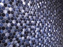 Indoor mosaic tile / wall / matte
