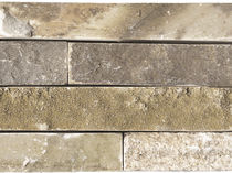 Outdoor tile / wall / natural stone / quartzite