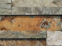 Outdoor tile / wall / natural stone / slate
