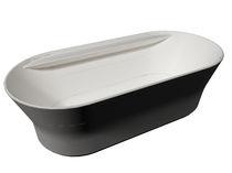 Oval bathtub / natural stone