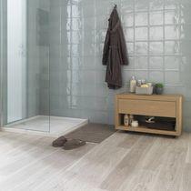 Rectangular shower base / natural stone