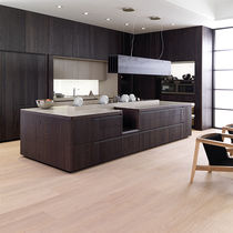 Engineered wood flooring / floating / oak / oiled
