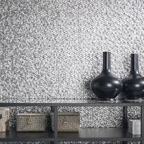 Indoor mosaic tile / wall / metal / 3D