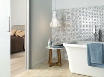 Indoor mosaic tile / outdoor / wall / natural stone