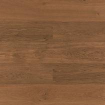 Engineered wood flooring / floating / oak / brushed