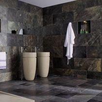 Indoor tile / bathroom / wall / slate