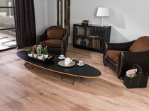 HDF laminate flooring / floating / not specified