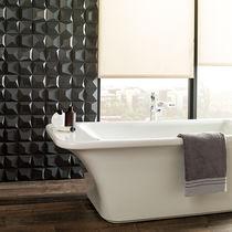 Bathroom tile / wall / porcelain stoneware / matte