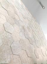 Wall tile / limestone / polished / mosaic look