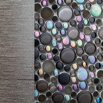Indoor mosaic tile / outdoor / wall / glass