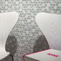 Indoor mosaic tile / wall / composite / textured