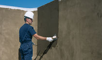 Resin waterproofing membrane / for walls / liquid