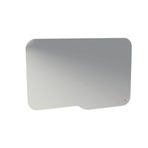 Wall-mounted mirror / contemporary / rectangular / for hotel rooms