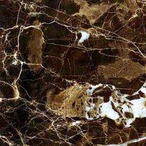 Floor tile / marble / polished / black