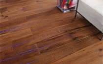 Engineered parquet flooring / oak / oiled / FSC-certified